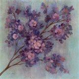 Twilight Cherry Blossoms I Art Print