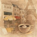 Cafe de Paris II Art Print
