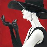 Haute Chapeau Rouge II Art Print