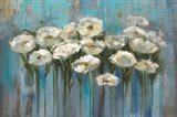 Anemones by the Lake Art Print