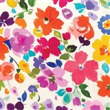 Bright Florals  I Art Print