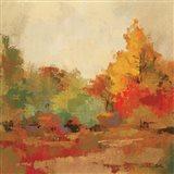 Fall Forest II Art Print