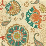Fall Paisley II Art Print