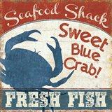 Fresh Seafood II Art Print