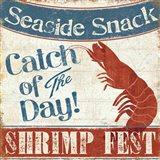 Fresh Seafood III Art Print