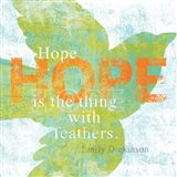Letterpress Hope Art Print
