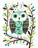 Night Owl I Art Print