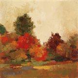 Fall Forest III Art Print