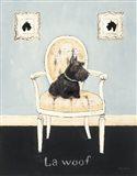 La Woof Art Print