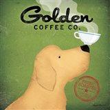 Golden Coffee Co. Art Print