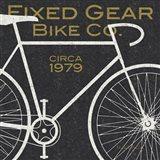 Fixed Gear Bike Co. Art Print