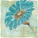 Spa Daisies II Art Print