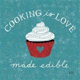 Cooking is Love Art Print