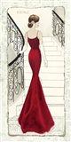 La Belle Rouge Art Print