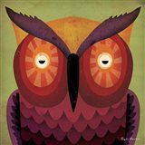Owl WOW Art Print