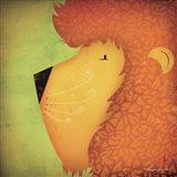 Lion WOW Art Print