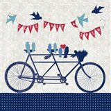 Take a Spin Birds Art Print