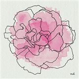 Watercolor Floral III Art Print