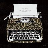 Analog Jungle Typewriter Art Print