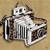 Analog Jungle Camera Art Print