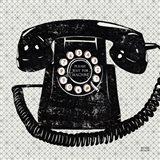 Vintage Analog Phone Art Print