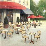 Cafe du Matin II Art Print