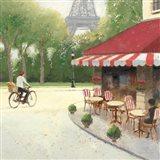 Cafe du Matin III Art Print