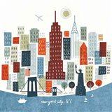 Colorful New York Art Print