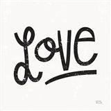 Love is Grand Square I Art Print