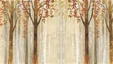 Down to the Woods Autumn Art Print