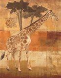 Animals on Safari I Art Print