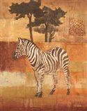 Animals on Safari II Art Print