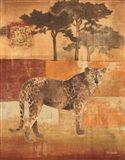 Animals on Safari III Art Print