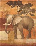 Animals on Safari IV Art Print
