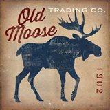 Old Moose Trading Co.Tan Art Print
