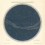 Celestial Sphere North Art Print