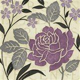 Perfect Petals II Lavender Art Print