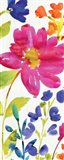 Floral Medley Panel I Art Print