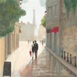 Paris Romance I Art Print