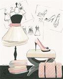 Dress Fitting I Art Print