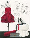 Dress Fitting II Art Print