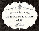 Le Bain Luxe I Art Print