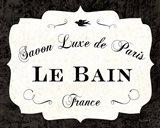 Le Bain Luxe II Art Print