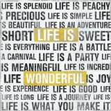 Life Is Yellow Art Print