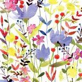 Annes Flowers Crop I Art Print