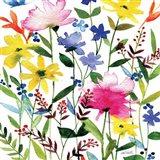 Annes Flowers Crop II Art Print