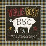 Southern Pride Best BBQ Art Print