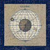 Globe Blue Art Print