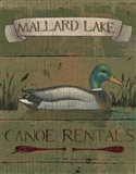 Lodge Signs IV Art Print