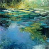 Water Lilies III Art Print